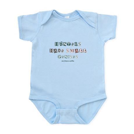 Small Penis Hunter Infant Bodysuit