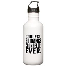 Coolest. Guidance Counselor. Ever. Water Bottle