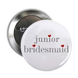 Junior Bridesmaid Grey Text Button