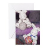Ostara &quot;Easter&quot; Bunny w/ Ball Greeting Cards (Pack