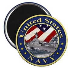 Navy League Magnet