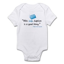 Soap & Baptism Infant Bodysuit