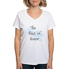 Maid Honor Blue Shirt