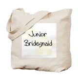 Jr. Bridesmaid Yellow Tote Bag