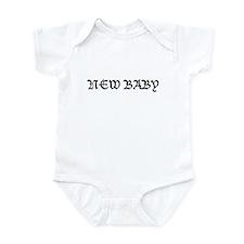 New Baby Infant Bodysuit