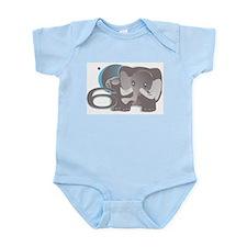 ELEPHNT6 'Tusk Tusk' Infant Bodysuit