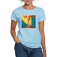 ECO Orange Vintage Crate Labe T-Shirt