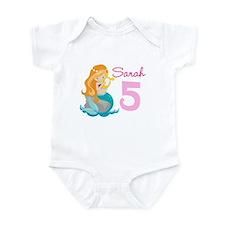 Mermaid Birthday Infant Bodysuit