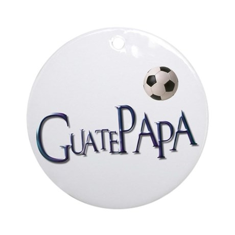 GuatePapa Ornament (Round)