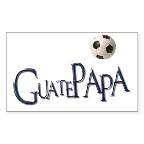 GuatePapa Rectangle Sticker