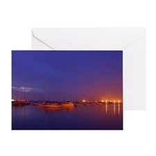 Funny Boat pictures Greeting Card