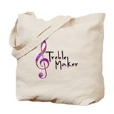 Treble Maker Tote Bag