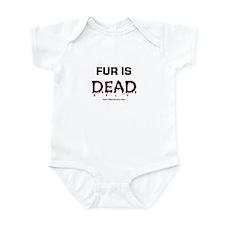 Fur Is Dead Onesie