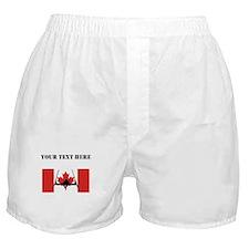 Extreme Skier Canadian Flag Boxer Shorts