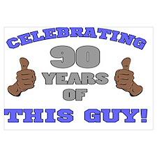 Celebrating 90th Birthday For Men
