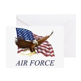 USAF Air Force Greeting Card
