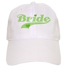 Baseball Bride Green Baseball Cap