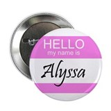 "Alyssa 2.25"" Button (100 pack)"