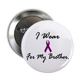 I Wear Purple For My Brother 1 (CF) Button