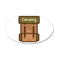 Camping Wall Decal