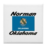Norman Oklahoma Tile Coaster