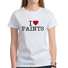 I Heart Paints Tee