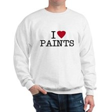I Heart Paints Sweatshirt