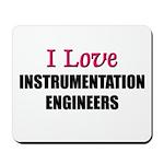 I Love INSTRUMENTATION ENGINEERS Mousepad