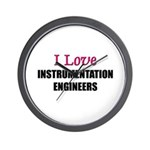 I Love INSTRUMENTATION ENGINEERS Wall Clock