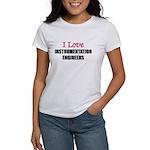 I Love INSTRUMENTATION ENGINEERS Women's T-Shirt