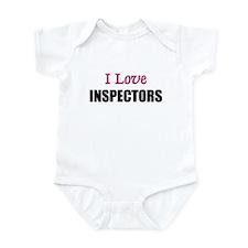 I Love INSPECTORS Infant Bodysuit