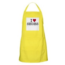 I Heart Shoes BBQ Apron
