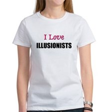 I Love ILLUSIONISTS Tee