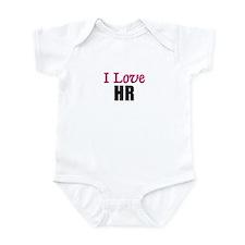I Love HR Infant Bodysuit