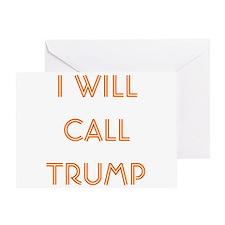 Call Trump Euchre Greeting Card