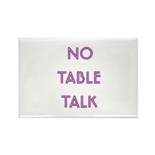 Euchre Table Talk Rectangle Magnet (10 pack)