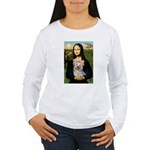 Mona & her Yorkie (T) Women's Long Sleeve T-Shirt