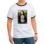 Mona & her Yorkie (T) Ringer T