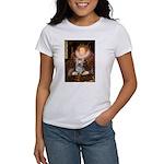 The Queen's Yorkie (T) Women's T-Shirt
