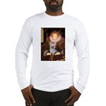 The Queen's Yorkie (T) Long Sleeve T-Shirt