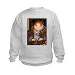 The Queen's Yorkie (T) Kids Sweatshirt