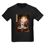 The Queen's Yorkie (T) Kids Dark T-Shirt
