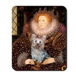 The Queen's Yorkie (T) Mousepad