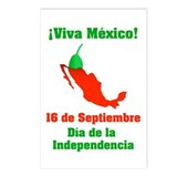Viva México Postcards (Package of 8)