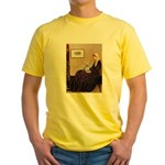 Mom's Yorkie TESS Yellow T-Shirt