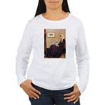 Mom's Yorkie TESS Women's Long Sleeve T-Shirt