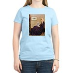 Mom's Yorkie TESS Women's Light T-Shirt