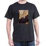Mom's Yorkie TESS Dark T-Shirt