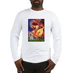 Mandolin Angel & Yorkie (T) Long Sleeve T-Shirt