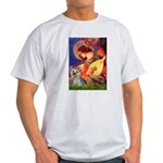 Mandolin Angel & Yorkie (T) Light T-Shirt